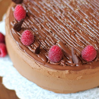 Quintuple Chocolate Cake