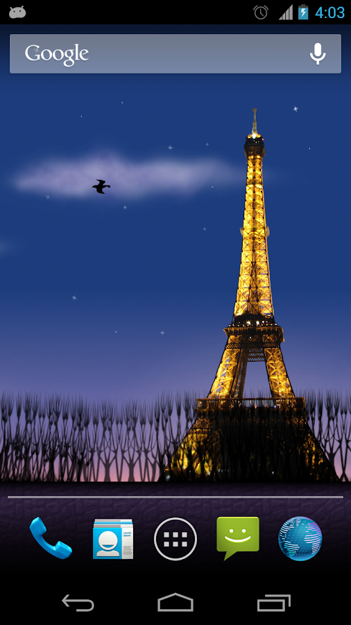 Mon Paris Live Wallpaper Free - screenshot