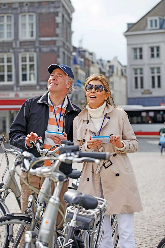 Explore Europe at your own pace through Scenic Cruises' Tailormad, which enables you to go on tours using exclusive GPS devices to learn about a place.