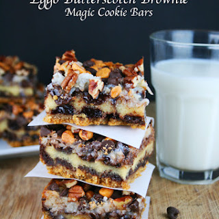 Eggo Butterscotch Brownie Magic Cookie Bars