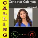 Zendaya Coleman Calling Prank icon