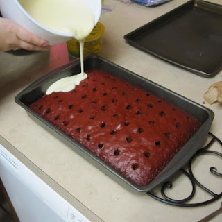 Recipe For Red Velvet Cheesecake Poke Cake
