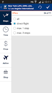 idealo Flight Comparison- screenshot thumbnail