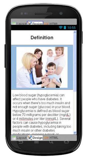 Diabetic Hypoglycemia Disease
