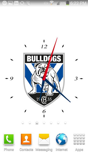 Canterbury Bulldogs Clock