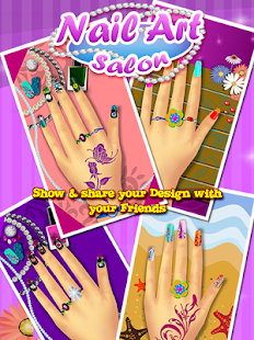 Nail Art Salon – Girls Game - screenshot thumbnail