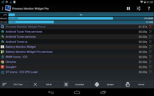 3C Process Monitor Pro  screenshots 6