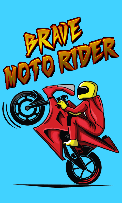 Brave Moto Rider- screenshot