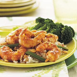 Szechuan Shrimp.