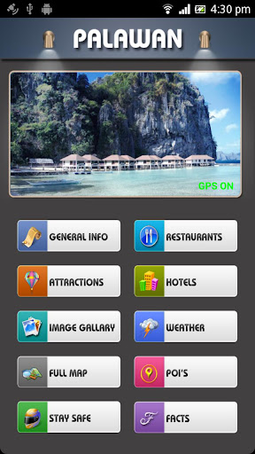 Palawan Offline Map Guide