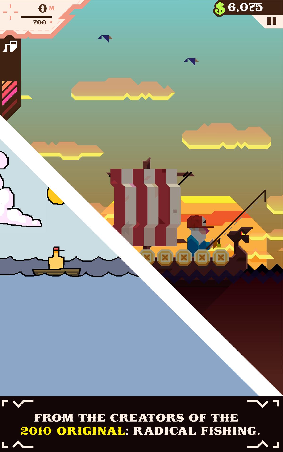 Ridiculous Fishing screenshot #10