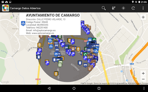 Camargo Datos Abiertos - Mapas- screenshot thumbnail