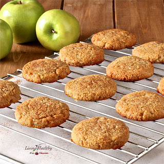 Apple Cinnamon Cookies (gluten/grain/dairy/egg-free).