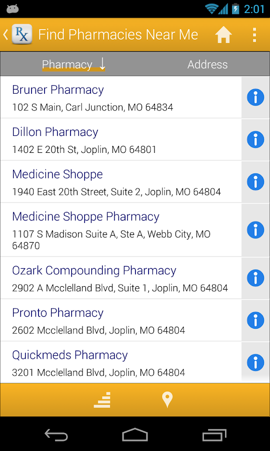 Pharmacy Discounts - screenshot