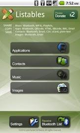 Listables Screenshot 1