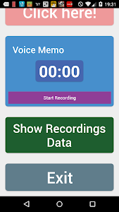 Simple voice memo screenshot 2