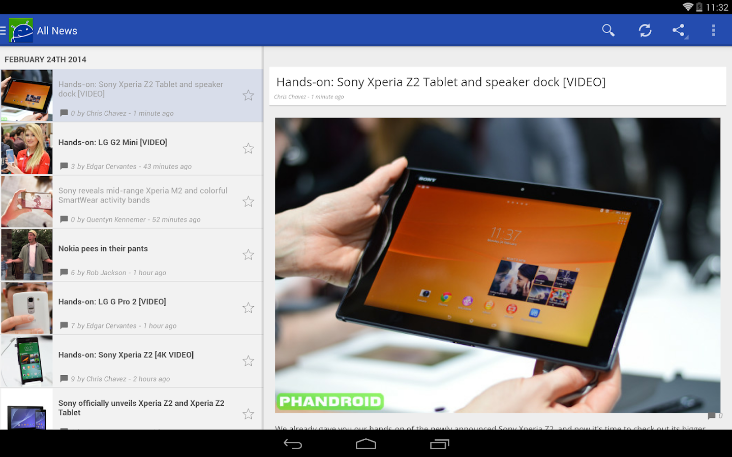 Android News by Phandroid - screenshot