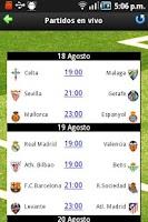 Screenshot of Liga Tweets Pro 2015/16