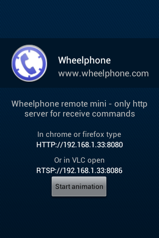 Wheelphone remote mini