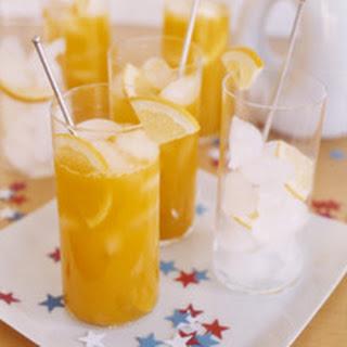 Mango-Ginger Mocktails.