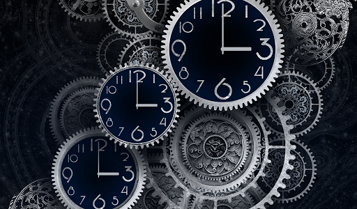 FREE Black Clock LiveWallpaper  screenshots 9