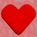 I Love Amy red 3D Heart LWP