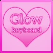 Pink Keyboard Glow