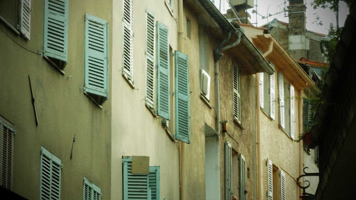 Windows of Cannes, France.
