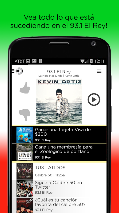 93.1 El Rey- screenshot