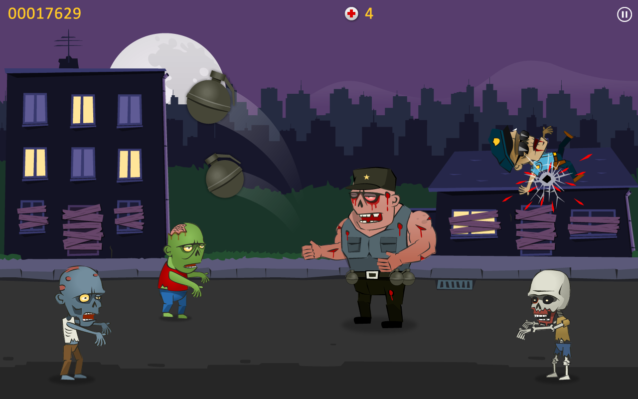 Zombie Blood - Angry Monsters - screenshot