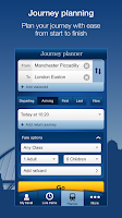 Screenshot of National Rail Enquiries