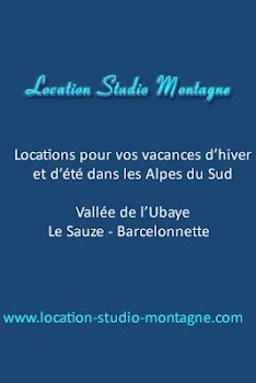 Location Studio Montagne