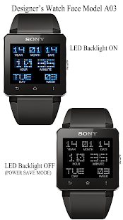A03 WatchFace for SmartWatch2