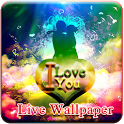 I Love You Valentine LWP icon