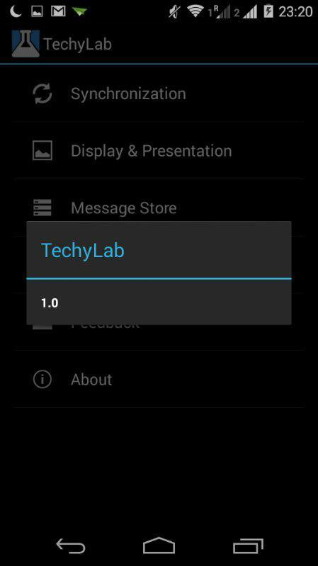 TechyLab- screenshot