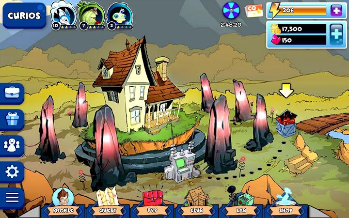 Curio Quest: Epic PvP Battles