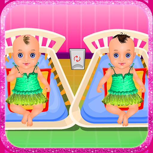雙胞胎嬰兒護理遊戲 休閒 LOGO-玩APPs