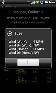 Cycle Weather - screenshot thumbnail
