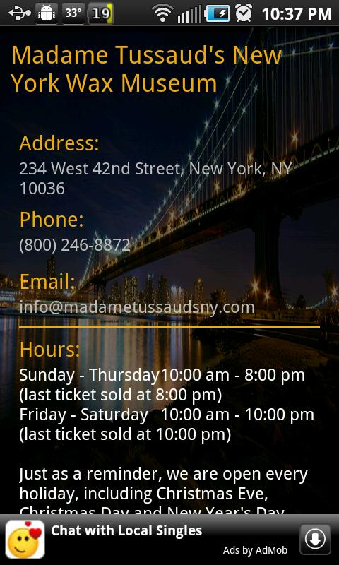 Museums In NYC - screenshot