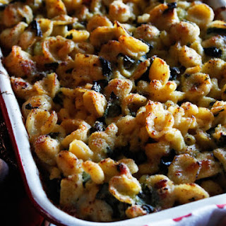 Mac and Cheese and Greens From 'Marcus Off Duty'.