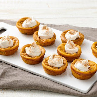 Impossibly Easy Mini Pumpkin Pies