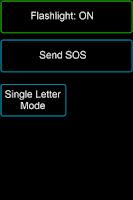 Screenshot of Morse Code Flashlight