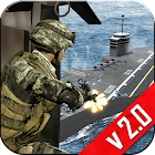Navy Gunship Shooting 3D Game icon