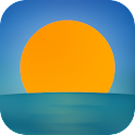iPlaya: beach weather icon