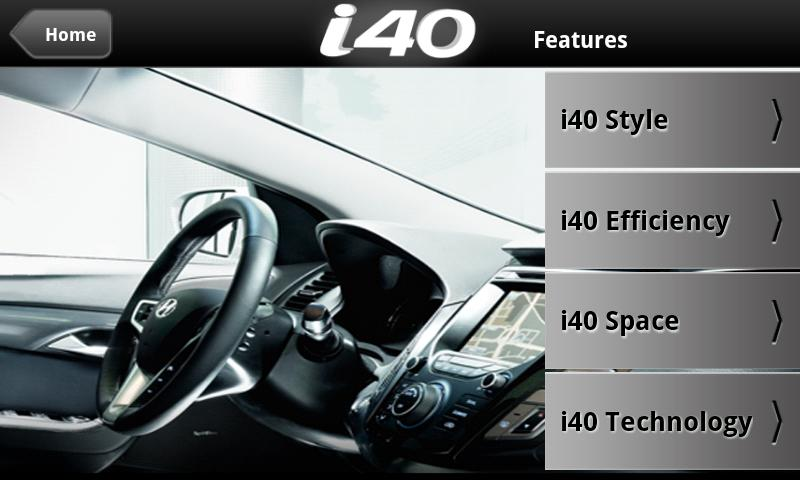 Hyundai i40 - screenshot