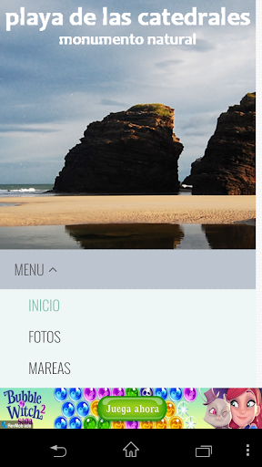 免費旅遊App|Mareas Playa de Las Catedrales|阿達玩APP