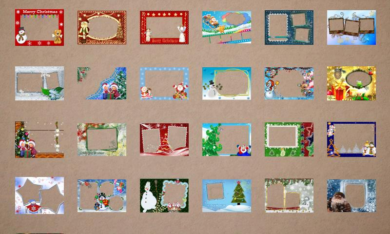 Christmas Photo Frames - screenshot