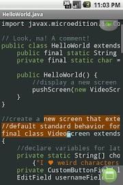 TextWarrior Screenshot 7