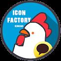 [카카오톡 테마] 아이콘 팩토리 첫번째 icon