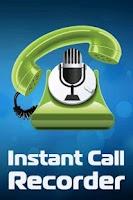 Screenshot of Instant Call Recorder